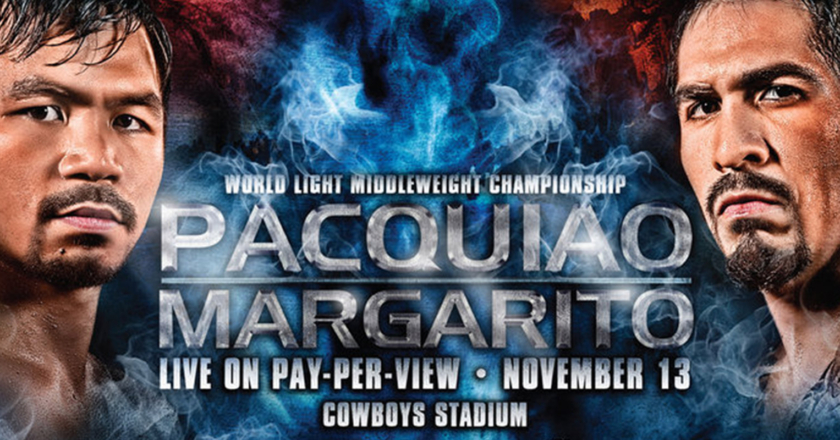 Manny Pacquiao vs. Antonio Margarito Poster