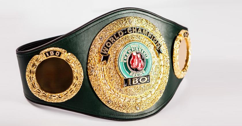 IBO Intercontinental Welterweight Belt