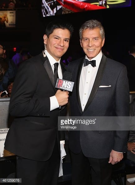 Ring Announcers, Ray Flores and Michael Buffer