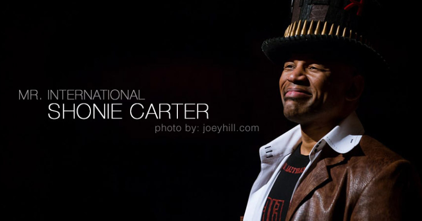 """Mr. International"" Shonie Carter"