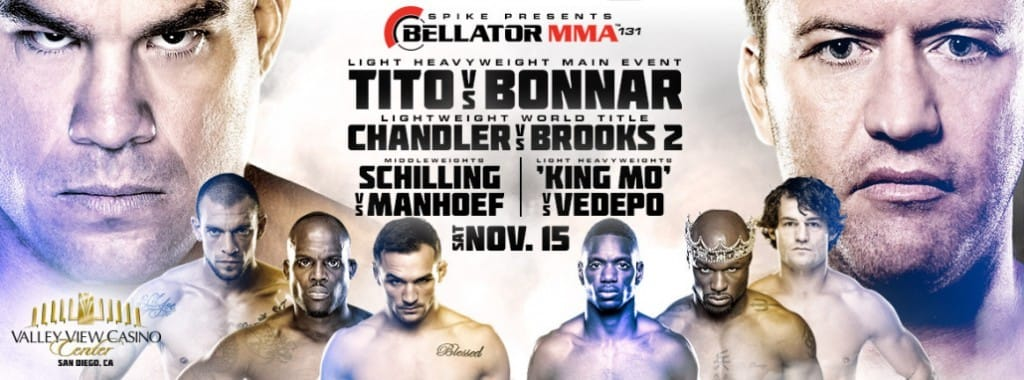 Bellator 131: Chandler vs. Brooks 2