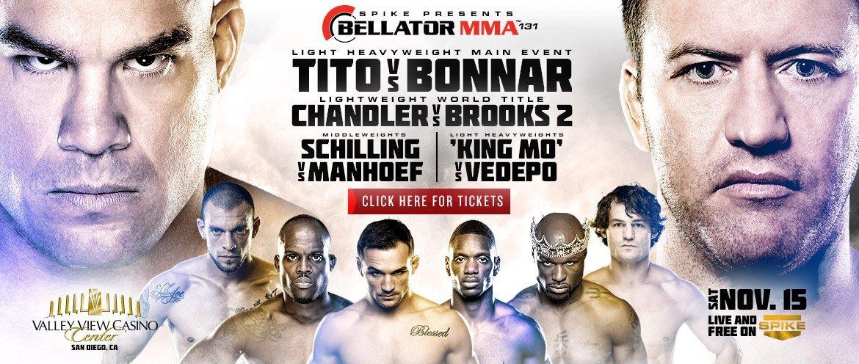 Bellator 131 Fight Poster